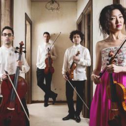 Quartetto Henao per Musica sulle Apuane 2020